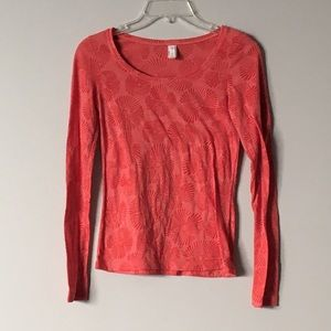 Lucy long sleeve top XS